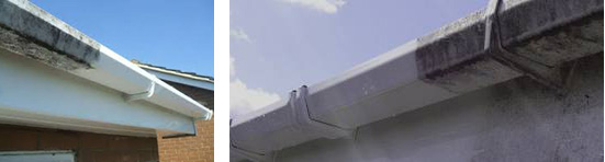 guttering, soffits and facias cleaning
