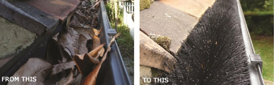 keeping gutters clear all year
